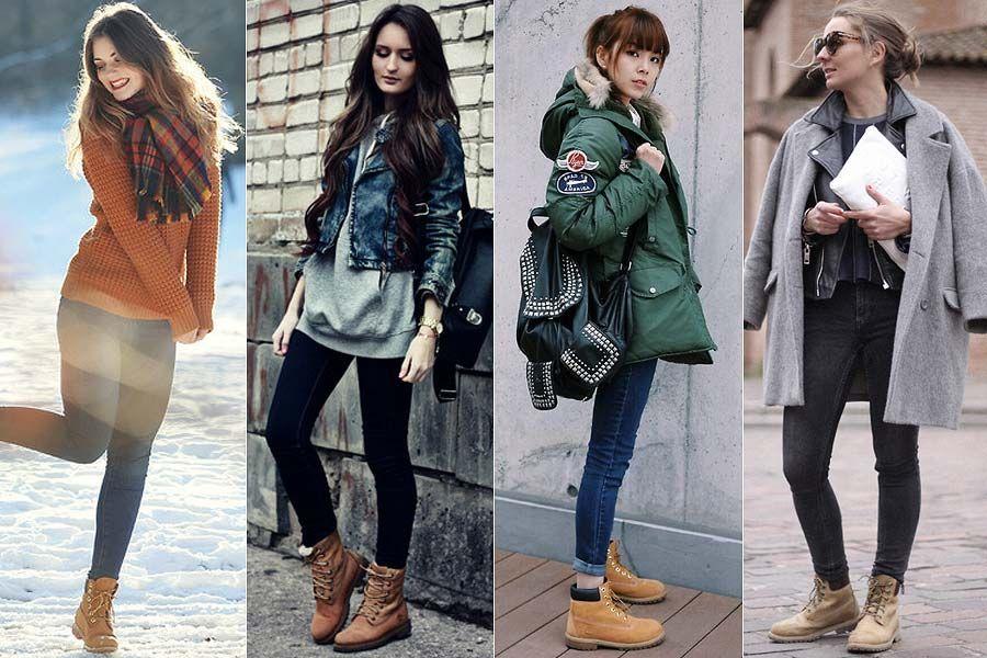 Como usar: Timberland boots | Botas timberland mujer, Moda