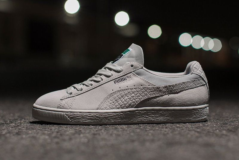 The Diamond Supply Co. x Puma Classic Suede collection is
