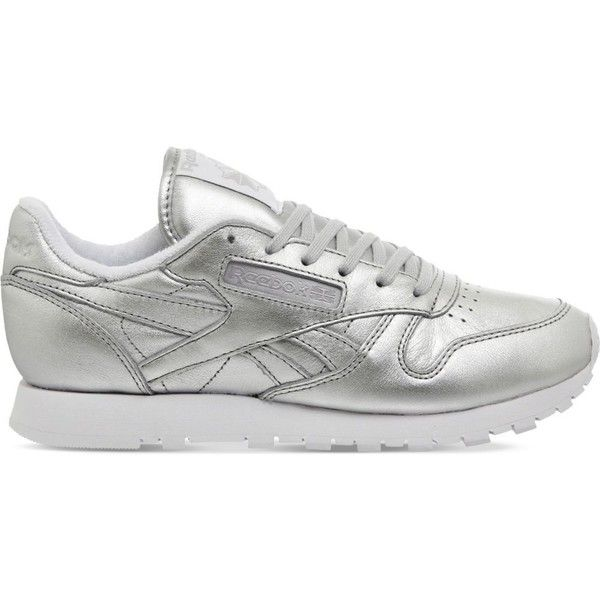 REEBOK Classic leather trainers ($85) ❤ liked on Polyvore