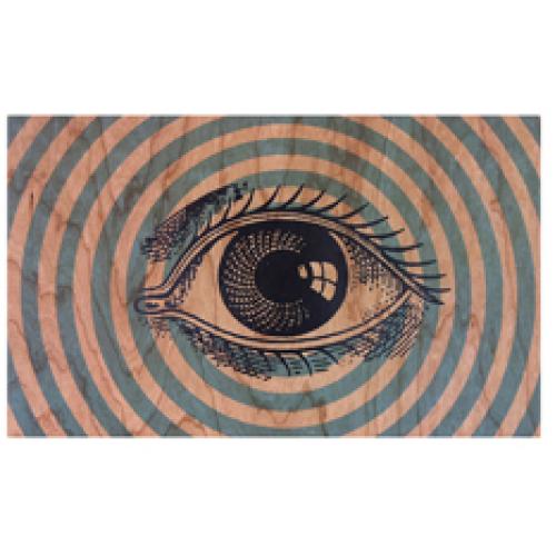 Wooden Wall Art - All Seeing Eye