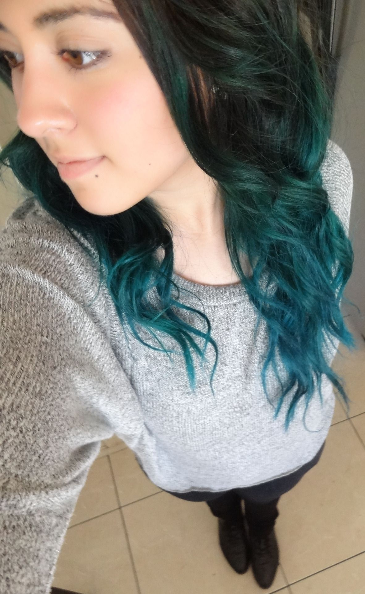 unnatural hair color for olive skin - Google Search | Hair ...