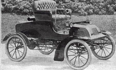 1903 Hoffman Gasoline Runabout Automobile Early American Antique Cars