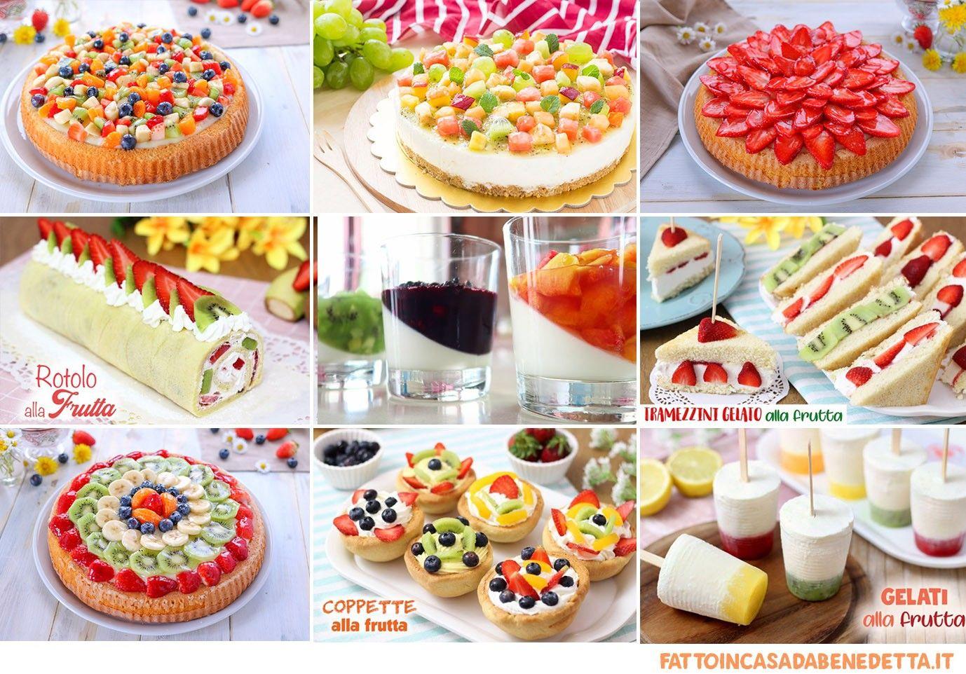 Composizioni Facili Di Frutta dolci alla frutta - ricette facili | dolci, ricette e