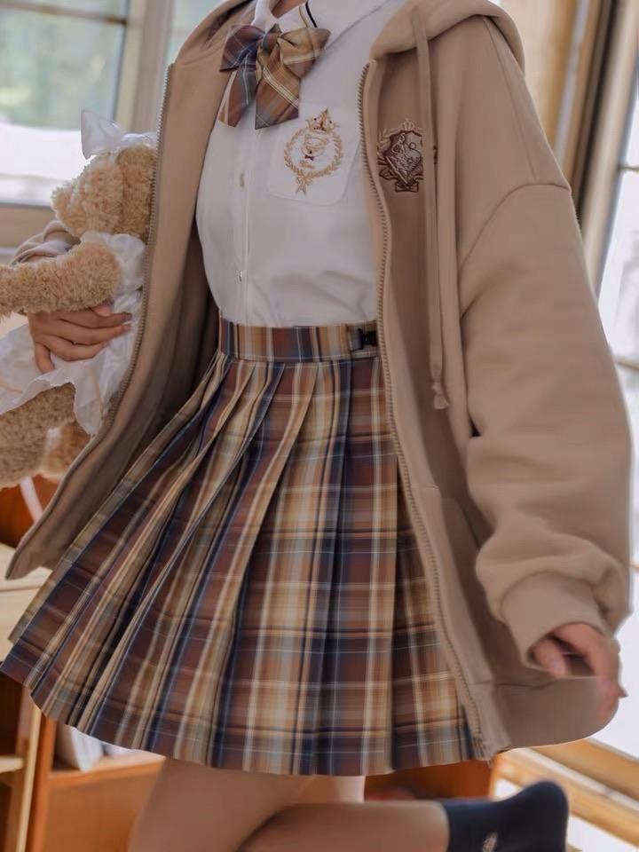Mocha Cozy Skirts - XL / 18.9 in / 48 cm