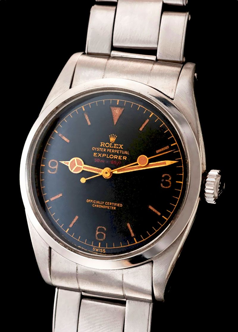 Rolex Explorer I with Red Detph Indication