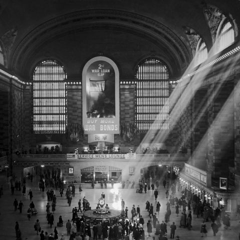 GRAND CENTRAL STATION 1940s