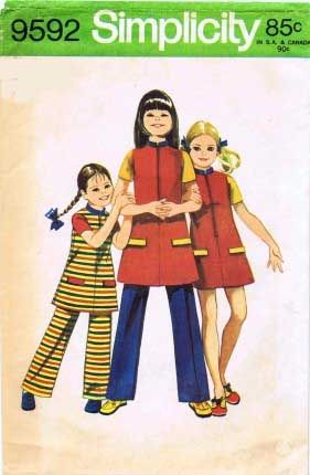 Simplicity 9592 | 1970s | Pinterest
