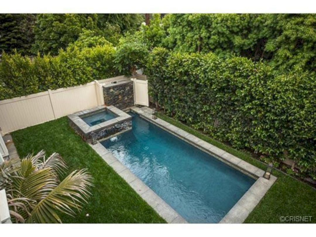 Coolest Small Pool Idea For Backyard 147 Piscinas Piletas Y R Stico ~ Piscinas Para Patios Pequeños Ideas