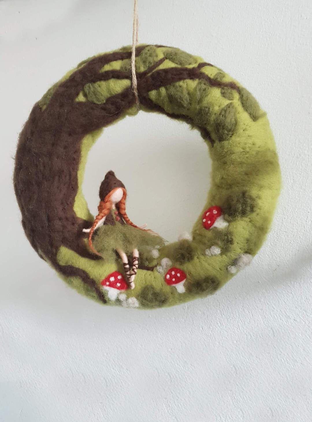 Handgemacht // Märchenhafte Filzfiguren nach Waldorf #filzen