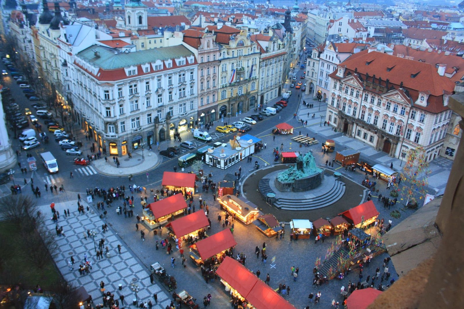 I Campi di Mais: Praga in primavera