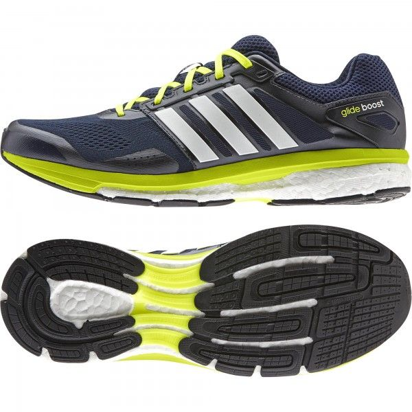 2118f16c3f Adidas SUPERNOVA GLIDE BOOST 7 M szürke-zöld férfi futócipő. A szintetikus  textil felsőrész