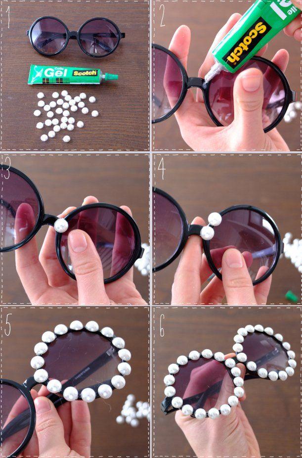 d262af836 Óculos criativos: aprenda a fazer o seu | Recycle and renew ...
