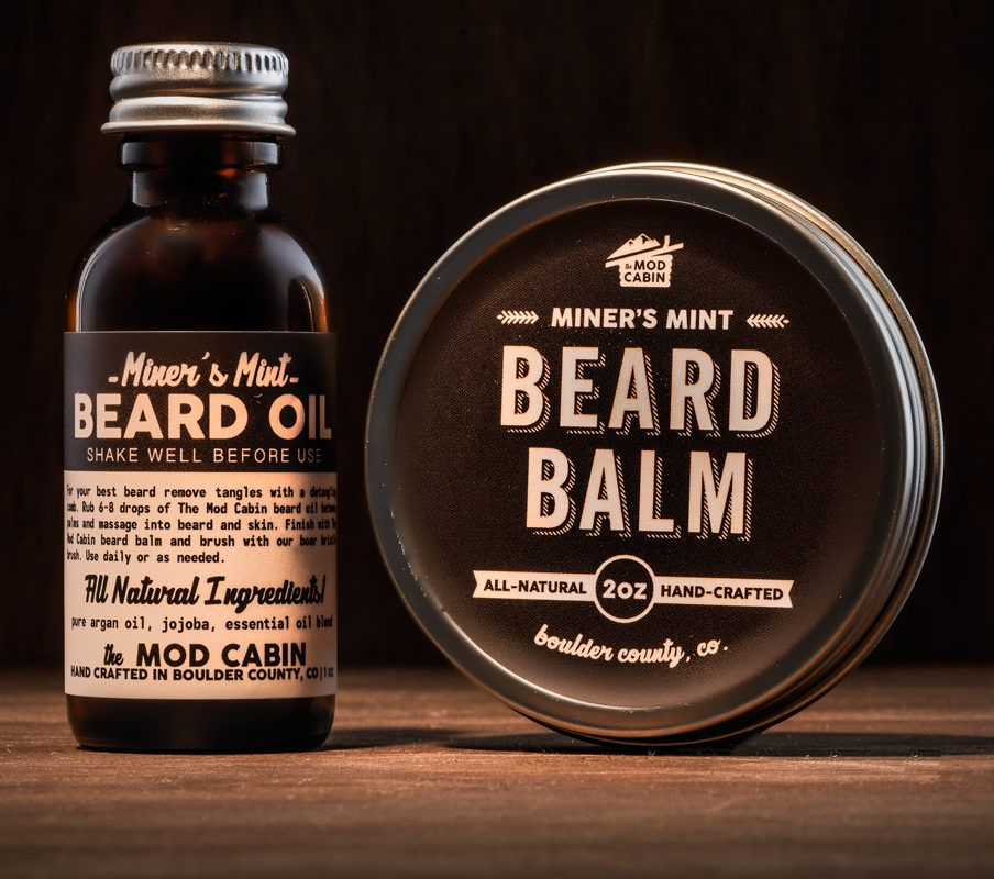 Beard Balm + Beard Oil Set Beard oil set, Beard balm
