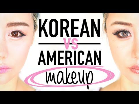 995c993bdc0 Korean Makeup vs American Makeup Before and After Transformation Tutorial  Routine ♥ Wengie - YouTube