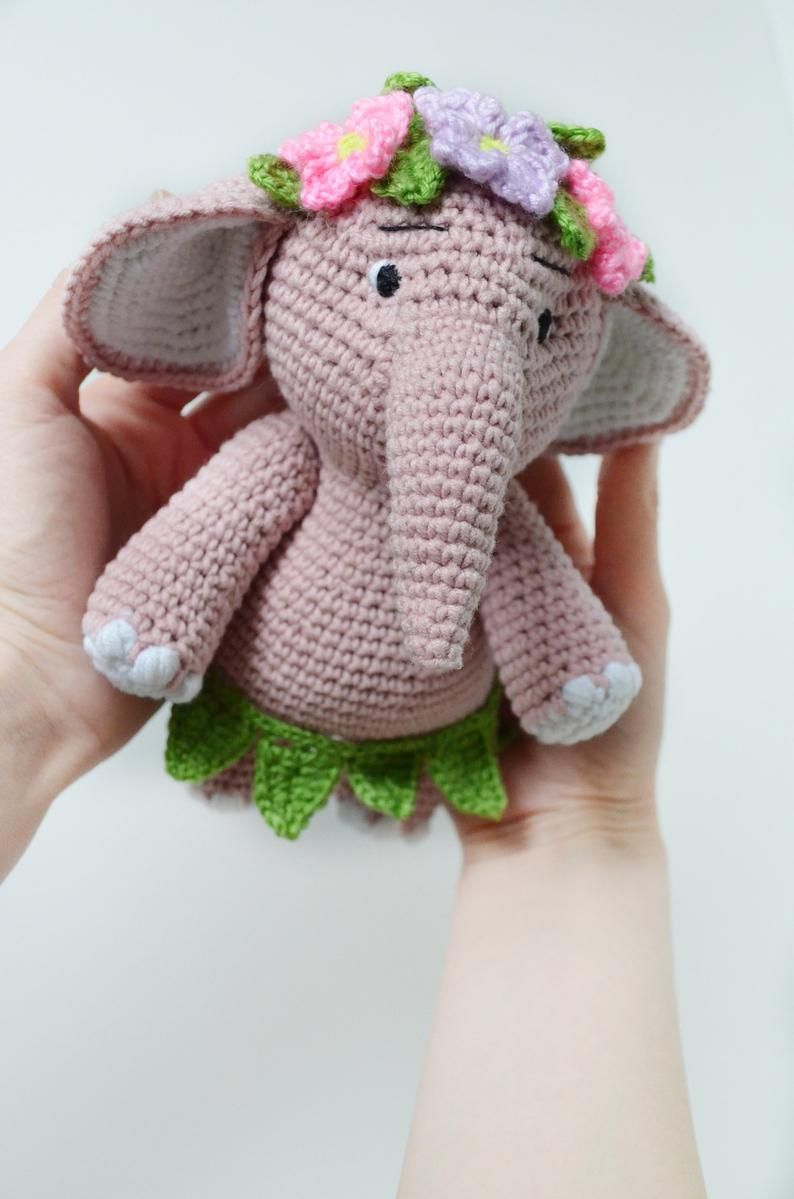 The Sweetest Crochet Elephant Patterns To Try | The WHOot | 1199x794