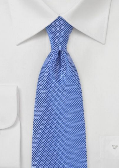 Textured Tie in Horizon Blue. This tie looks amazing with  tans, navy blues and grays.