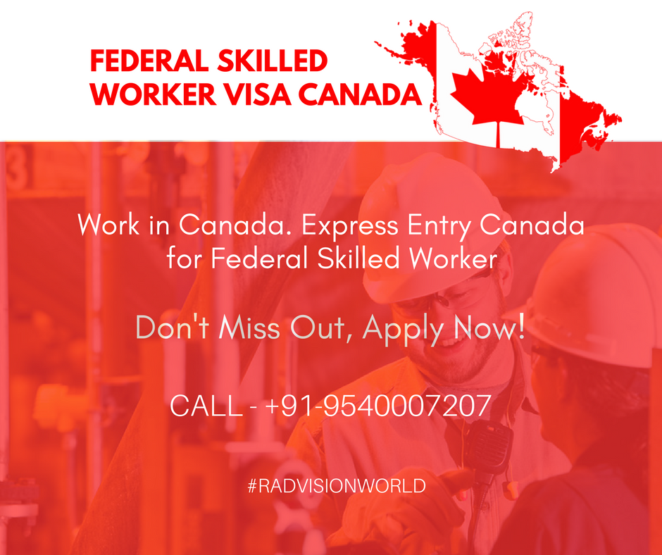 CANADA FSW Express Entry Visa Canada jobs for Indians  Apply