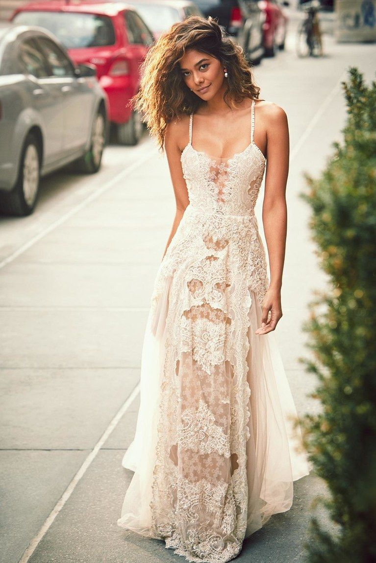Champagne colored wedding dress  Colorful Wedding Dresses You Can Buy Now  wedding dresses