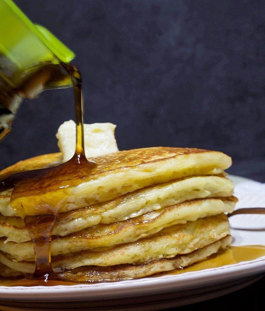 Sour Cream Buttermilk Pancakes My Country Table Recipe In 2020 Buttermilk Pancakes Easy Homemade Pancakes Tasty Pancakes