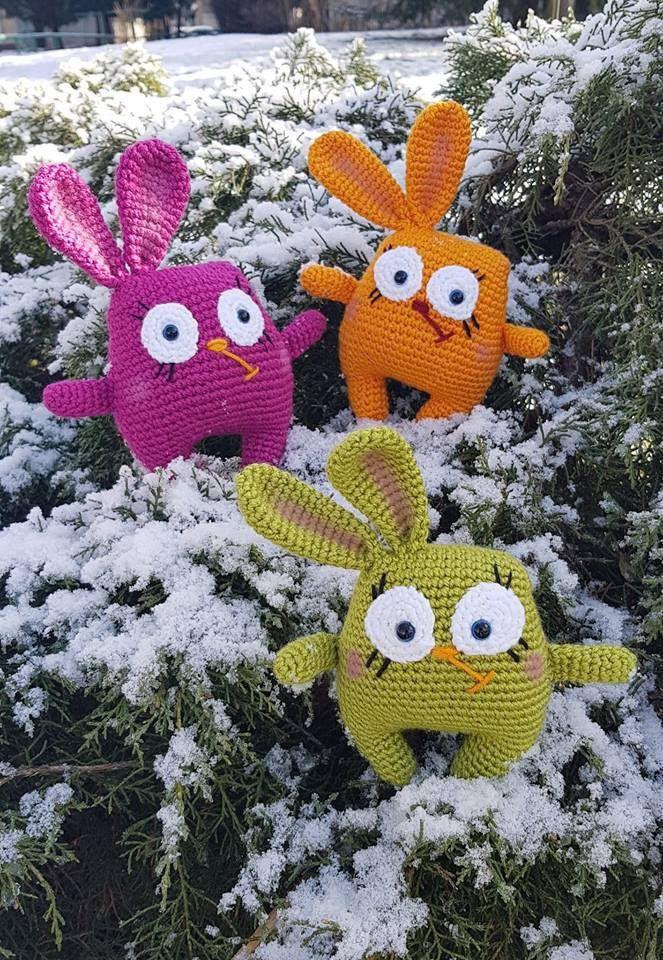 Crochet Bunny, Easter Knitted Rabbit, Amigurumi Bunny, Bunny Easter symbol, Gift for Kid, Bunny Plush, Handmade Bunny,Knitted Animal, Decor