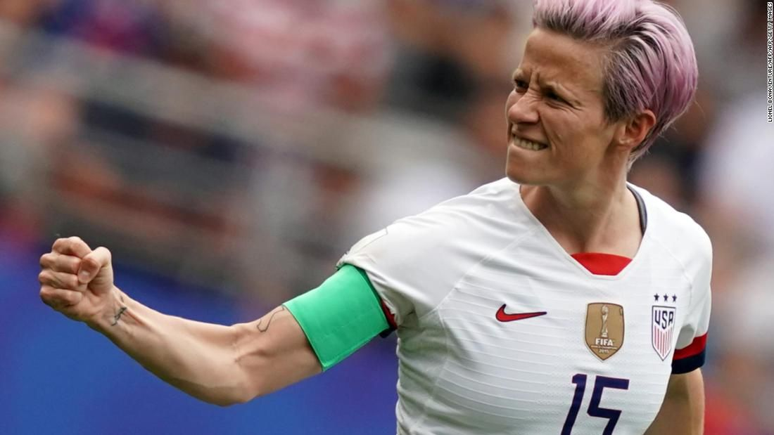 Megan Rapinoe Us Captain World Cup Winner And Campaigner For Social Justice Megan Rapinoe Women S Soccer Team Womens Soccer
