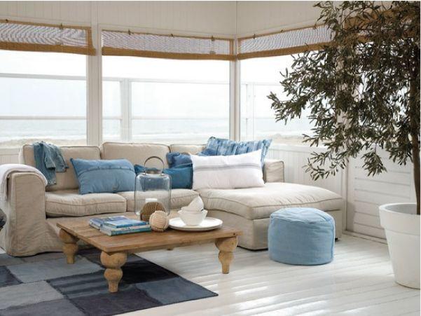 Arredare la casa al mare idee per una casa naturale - Idee per arredare casa al mare ...