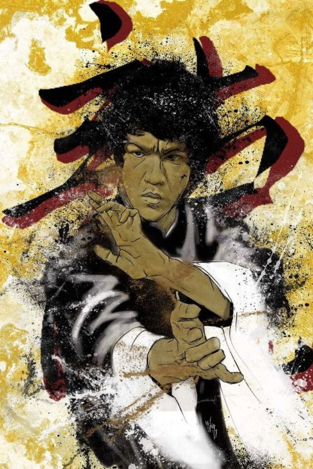 Bruce lee fan art came out pretty good bruce lee jeet for Lee s painting