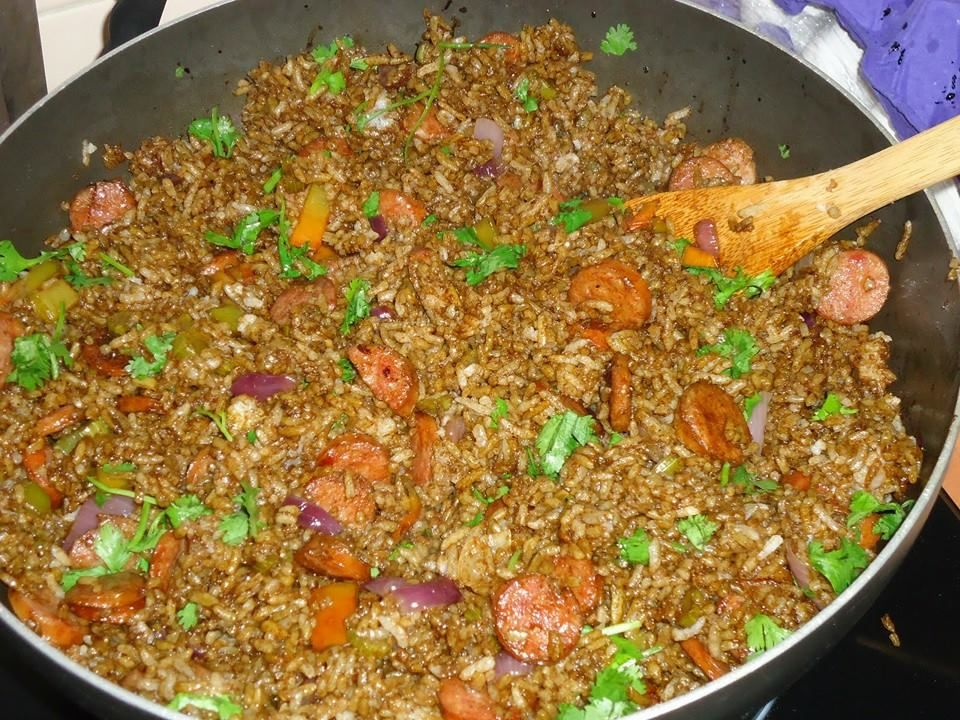 chofan  Comida Dominicana  Food Ethnic recipes y Fried Rice