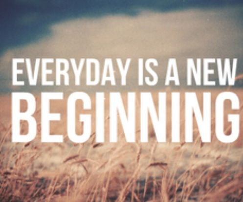 Everyday is a new beginning life quotes quotes quote life life lessons