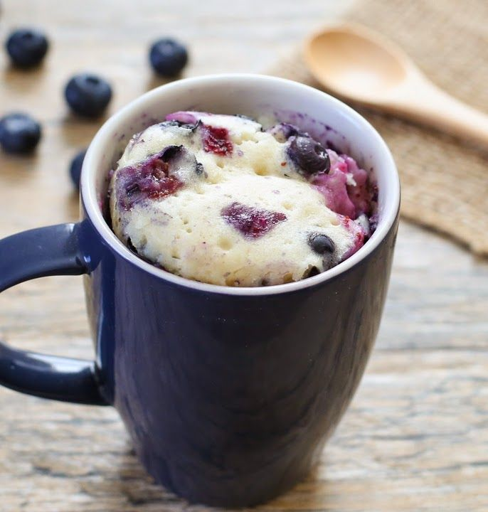recipe: blueberry muffin in a mug [8]