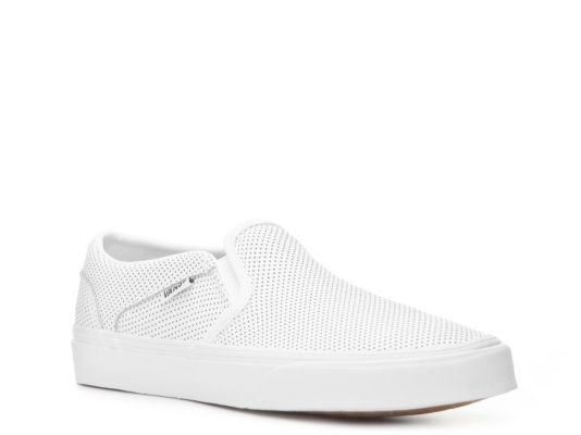 discount sale on wholesale uk store Women's Women Asher Perforated Slip-On Sneaker -White - White ...