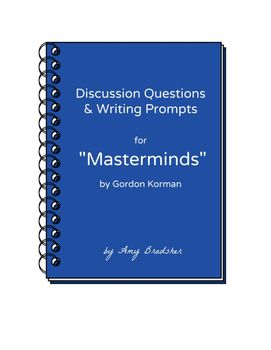 Discussion questions writing prompts for masterminds by gordon discussion questions writing prompts for masterminds by gordon korman fandeluxe Gallery