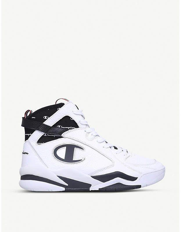 Zone 93 hi-top sneakers - Black Champion SrTffPrV