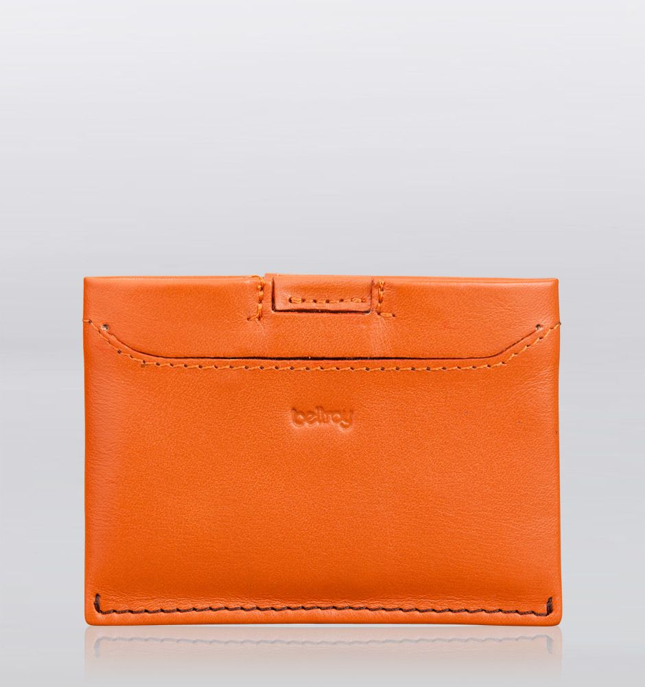 Bellroy micro sleeve wallet tan