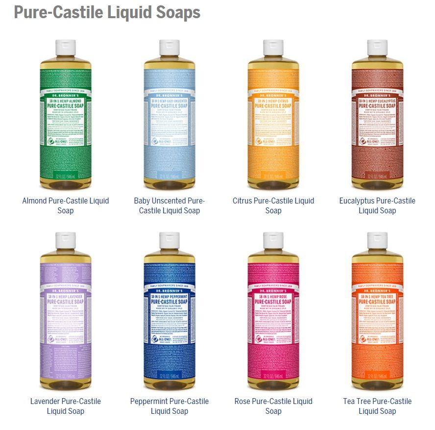 Doctor Bronner S Castile Soap Is Amazing For Its Gentleness