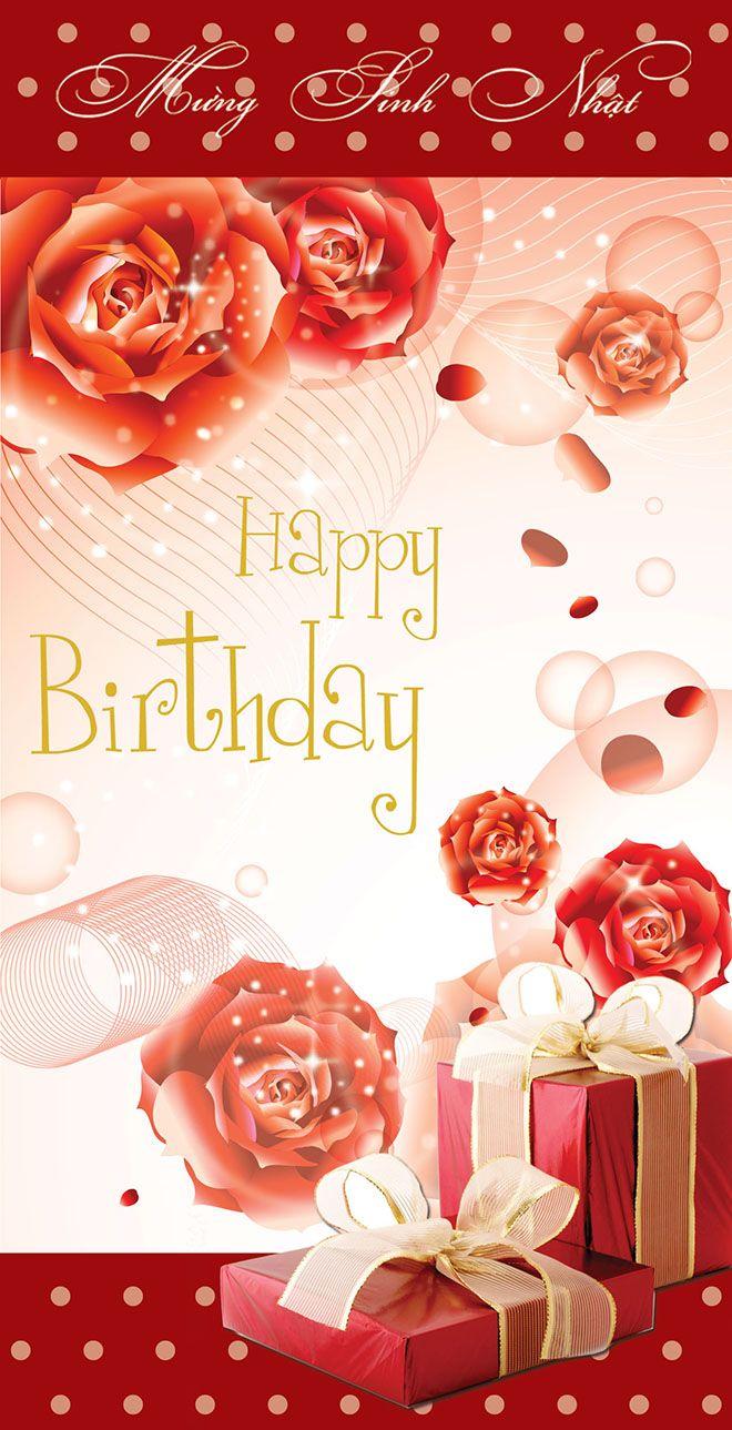 Bức thiệp chúc mừng sinh nhật đẹp và lung linh số 6