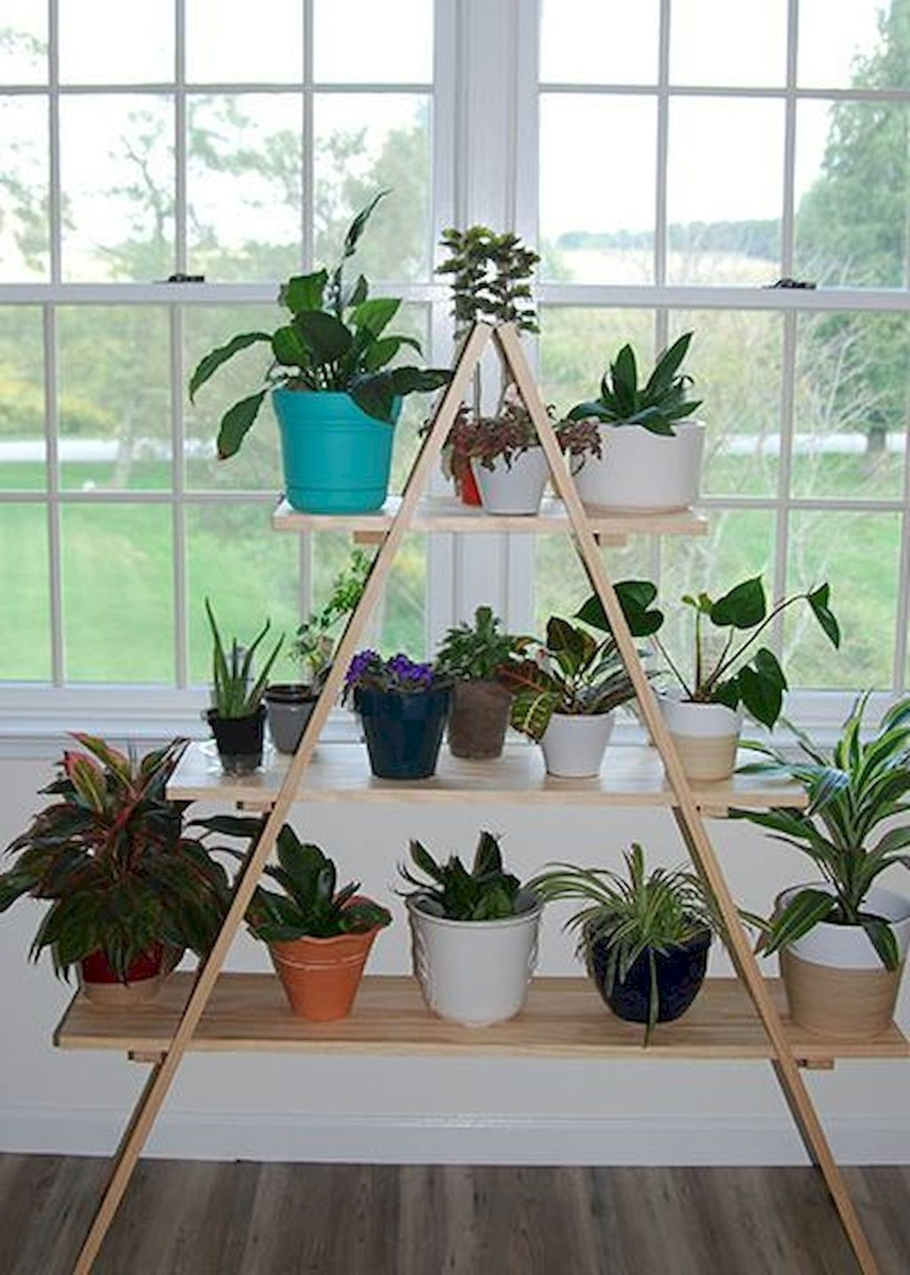 30+ Popular Indoor Plant Stands Ideas For Fresh Home ... on Hanging Plant Stand Ideas  id=74358