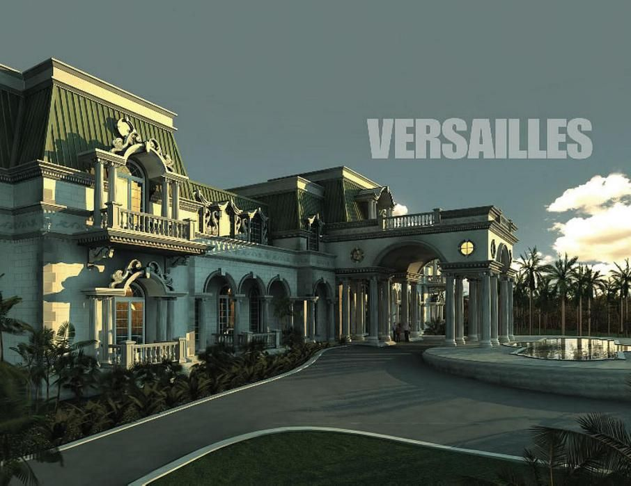 Photos: America's biggest house, 'Versailles' in Florida/rendering of the house.