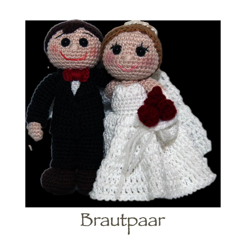 Brautpaar Kostenlose Pdf Anleitung Diy Stricken Häkeln Pueppchen