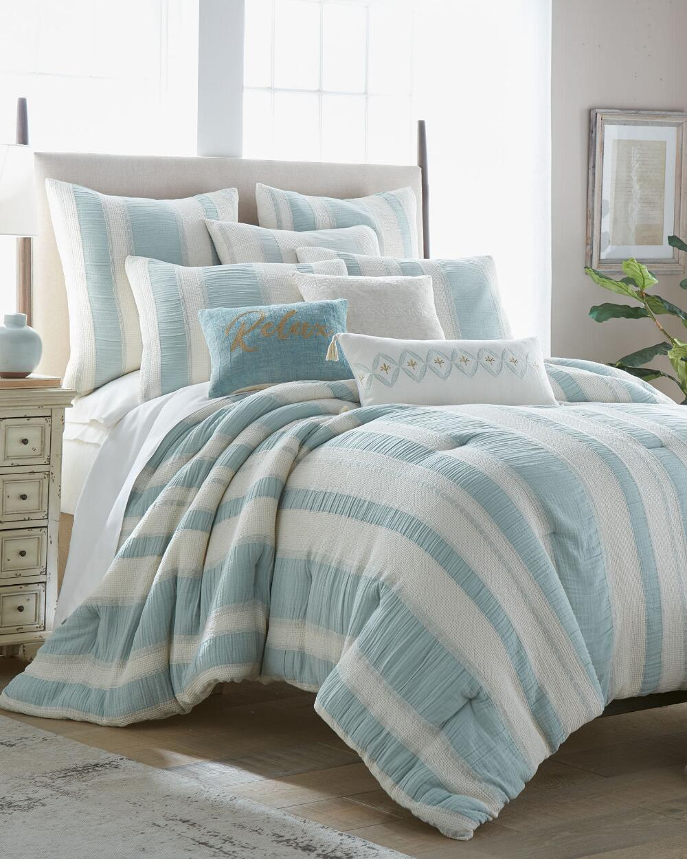Exclusively Ours 3 Piece Cirrus Comforter Collection Comforters Bedding Bed Bath Stein Mart In 2020 Comforter Sets Blue Comforter Sets King Comforter Sets