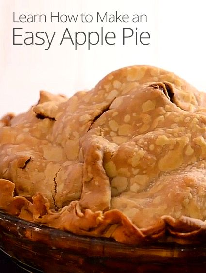 rebecca shows how to make an easy and classic apple pie