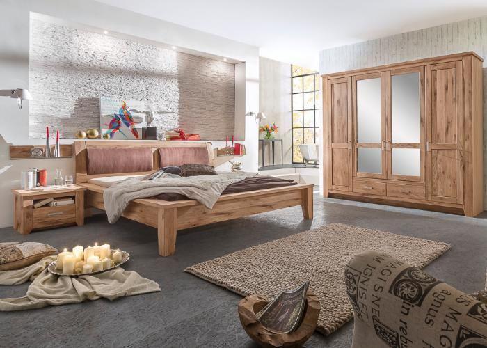 Schlafzimmer Toronto aus massiver Asteiche Einfach himmlisch