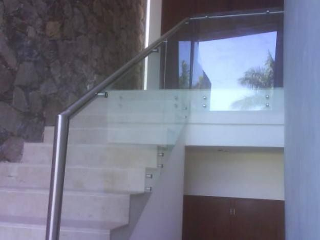 Pasamanos de acero inoxidable para escalera cuando se - Pasamanos escaleras acero inoxidable ...