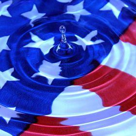 Patriotic ripples Alan Crosthwaite