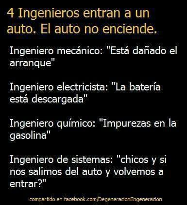 A Q Ingenieros Chistes De Ingenieros Humor De