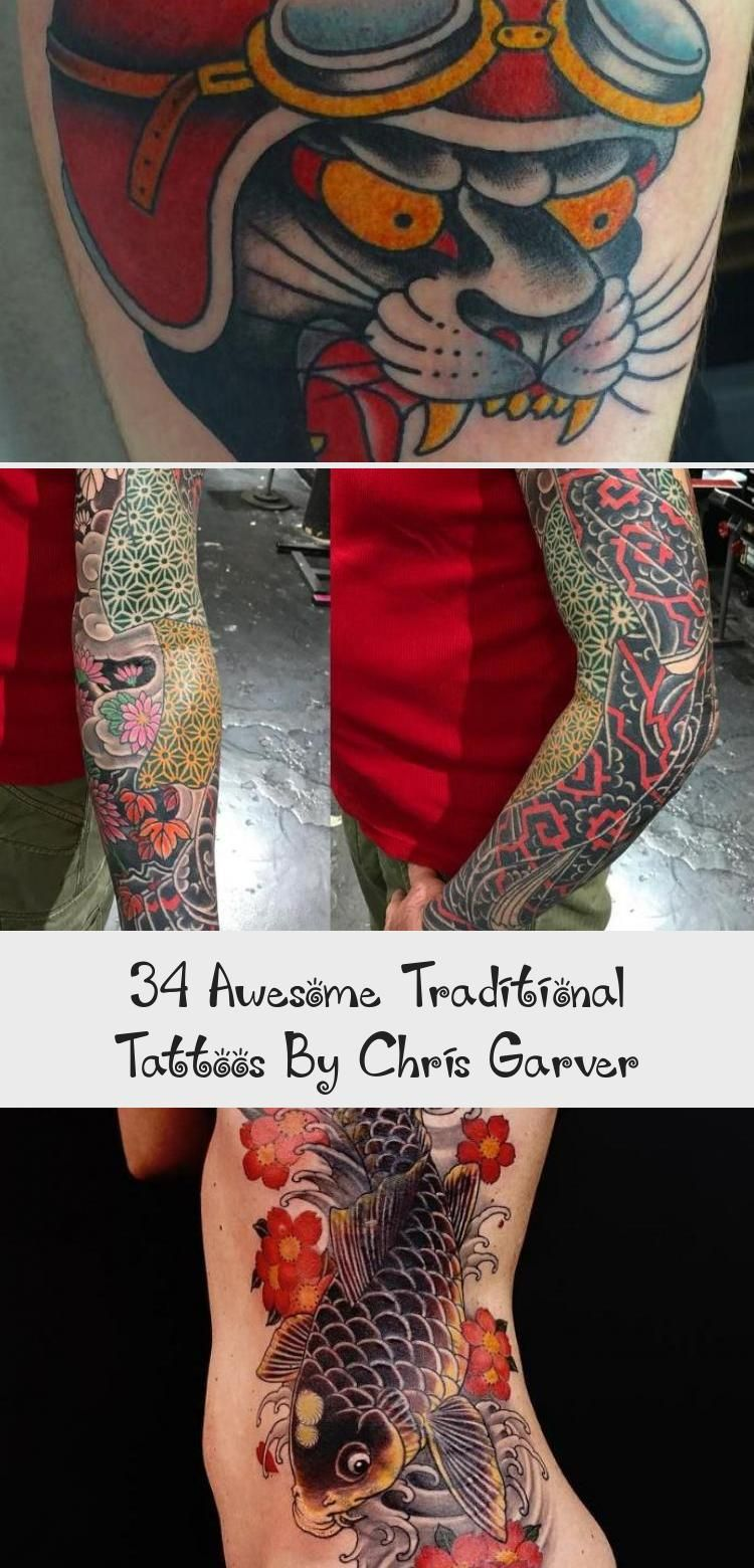 Photo of 34 impressionnants tatouages ​​traditionnels par Chris Garver – Tatouages