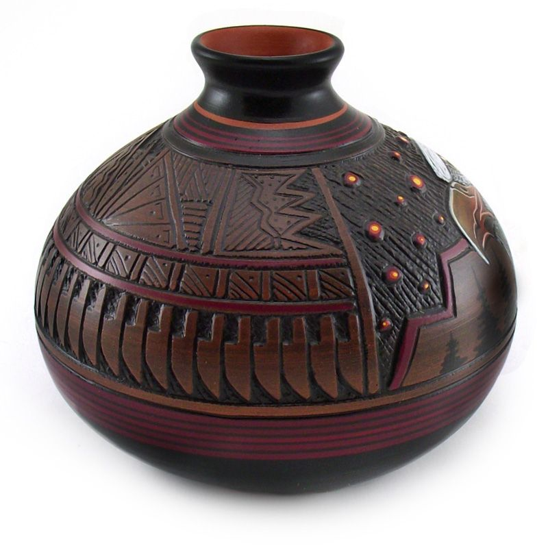 Native American Pottery Designs 119856 Navajo Pottery With Eagle Design