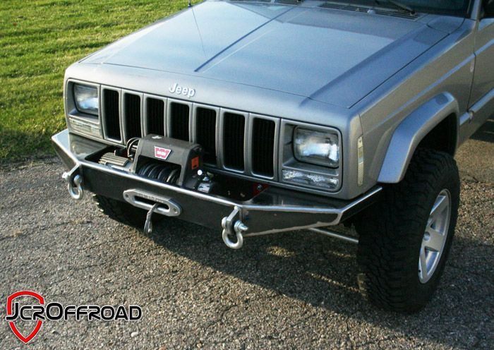 Diy Xj Winch Bumper Jeep Cherokee 84 01