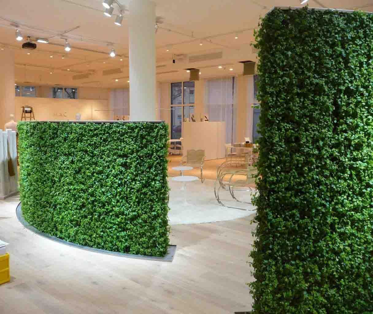 Vertikale Begrünung die grüne wand der wandgarten oder auch die vertikale begrünung wand