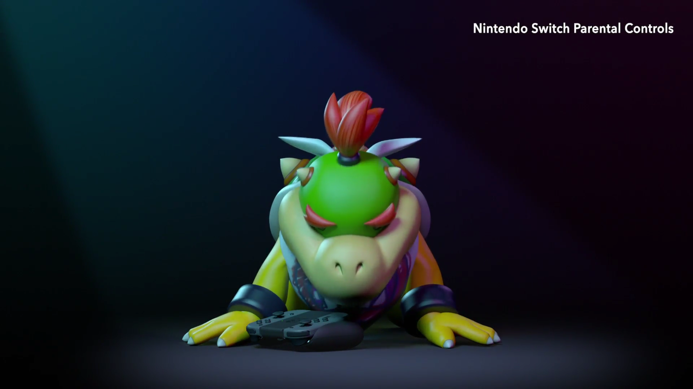 Gaming with Bowser & Bowser Jr Nintendo Switch Mario and